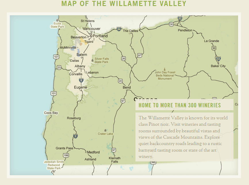 williamette-valley-map