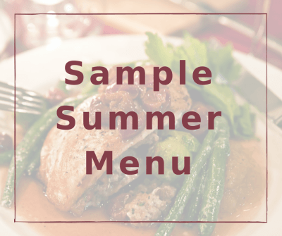 See Our Sample Fall-Winter Menu