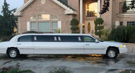 Stretch Limo Cameo Heights Mansion