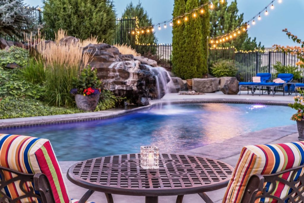 After Bennington Lake, there's more fun to be had in the gorgeous pool at Cameo Heights Mansion Bed and Breakfast