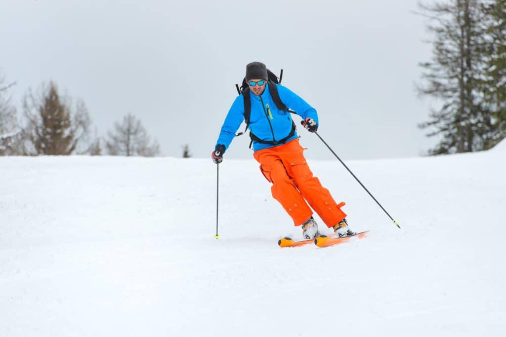 Skiing at Bluewood Ski Area near Walla Walla