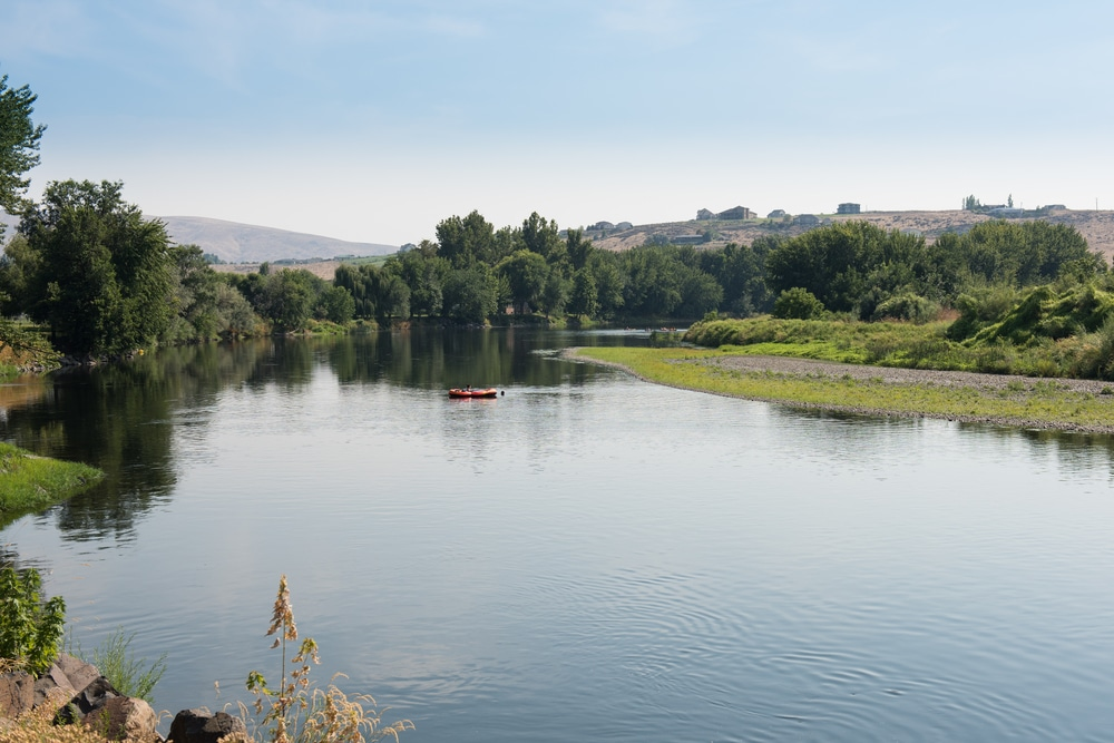 Bennington Lake is one of the most popular places to enjoy water sports in Walla Walla